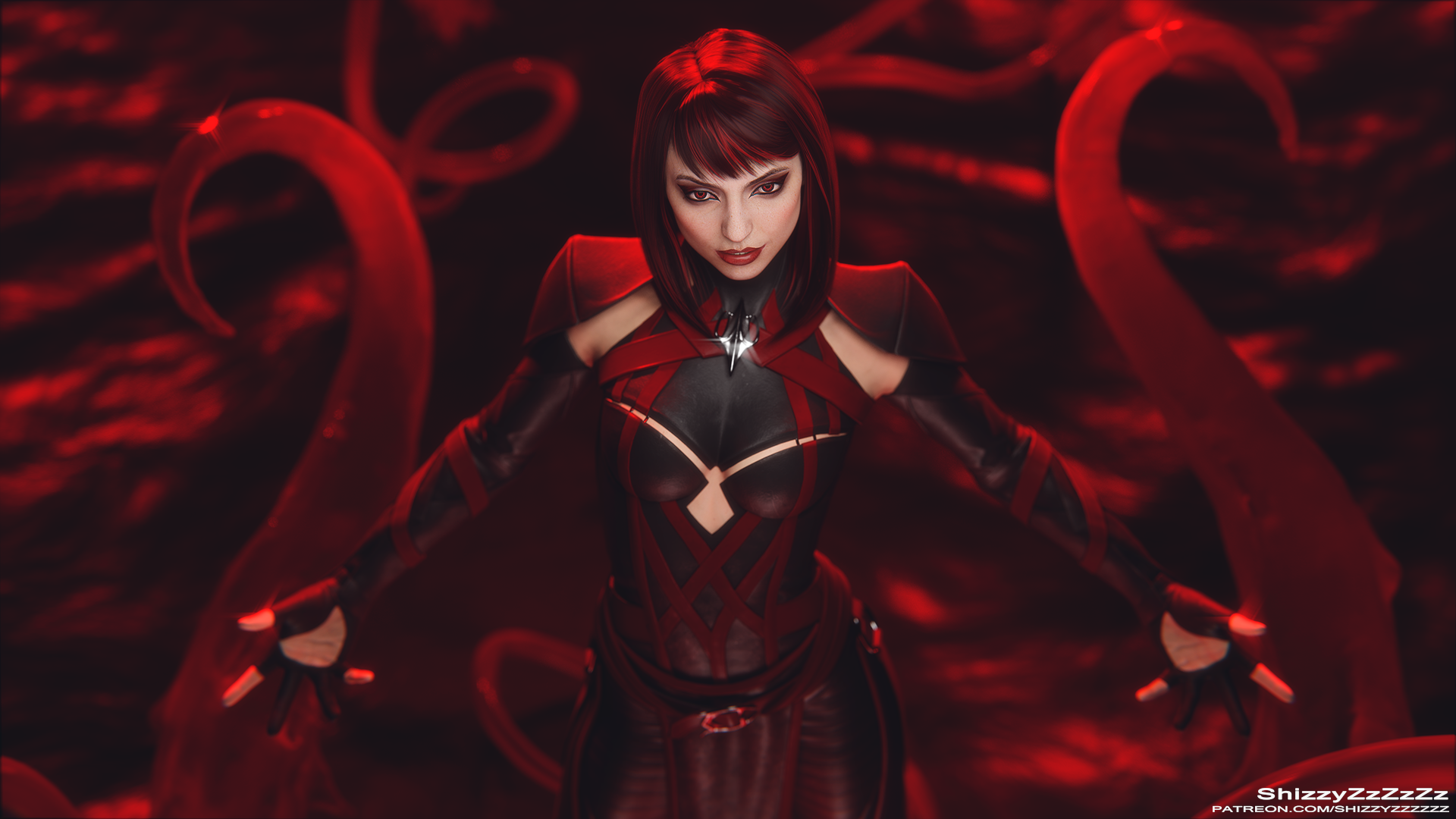 Skarlet Mortal Kombat 11 by yozoriku on DeviantArt