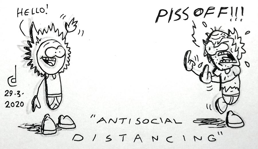 Antisocial Distancing