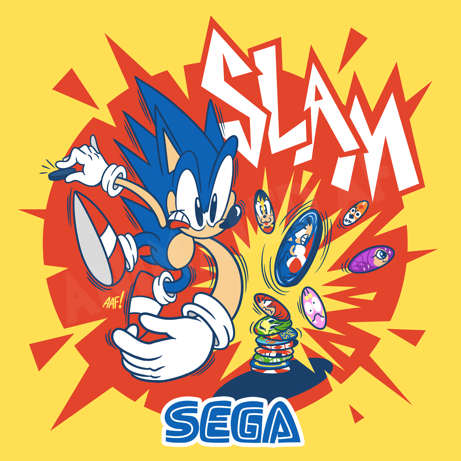 Sonic is back in POG form!