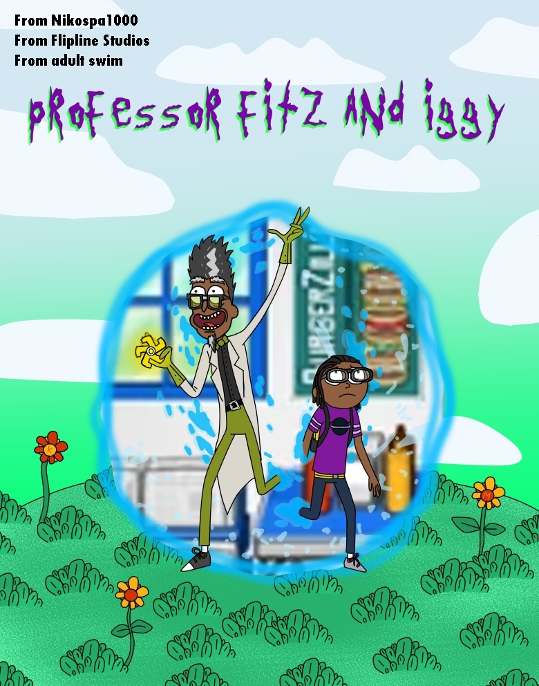 Professor Fitz and Iggy to April Fools' Day