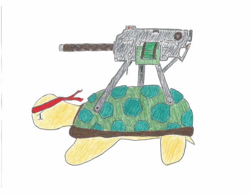Rambo Turtle