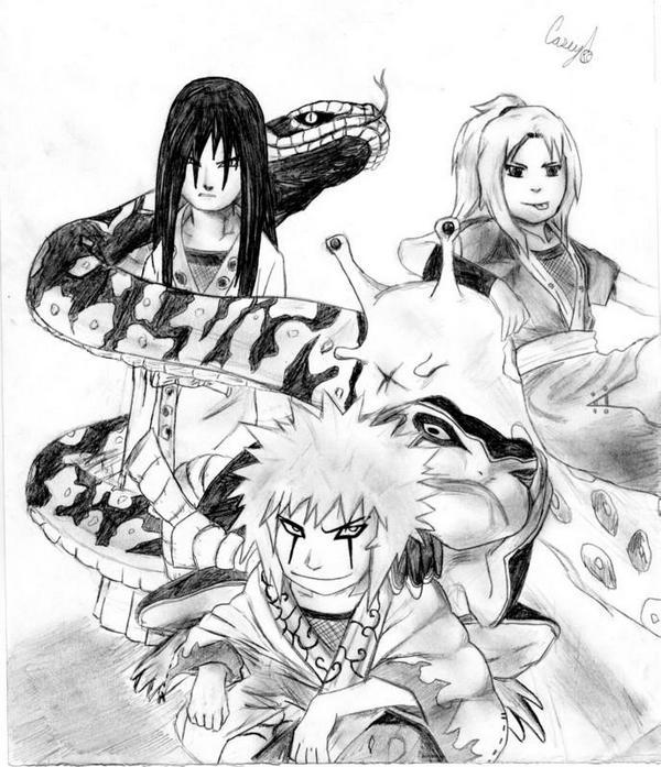 Sannin Naruto