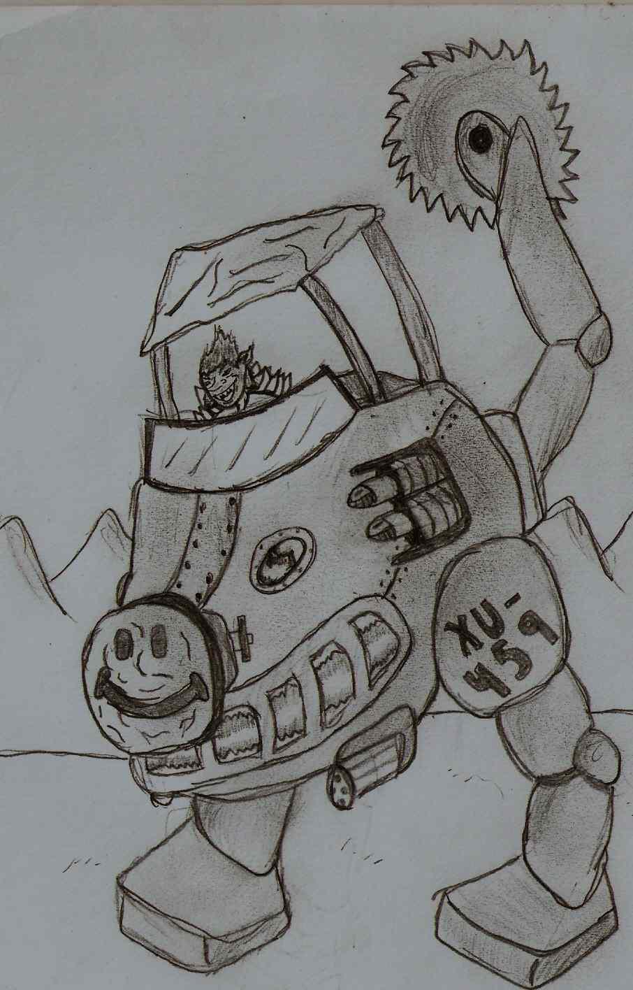 "Gobln War Machine ""XU-459"""