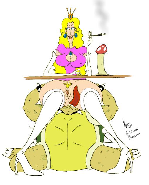 Princess peach and a sex slave