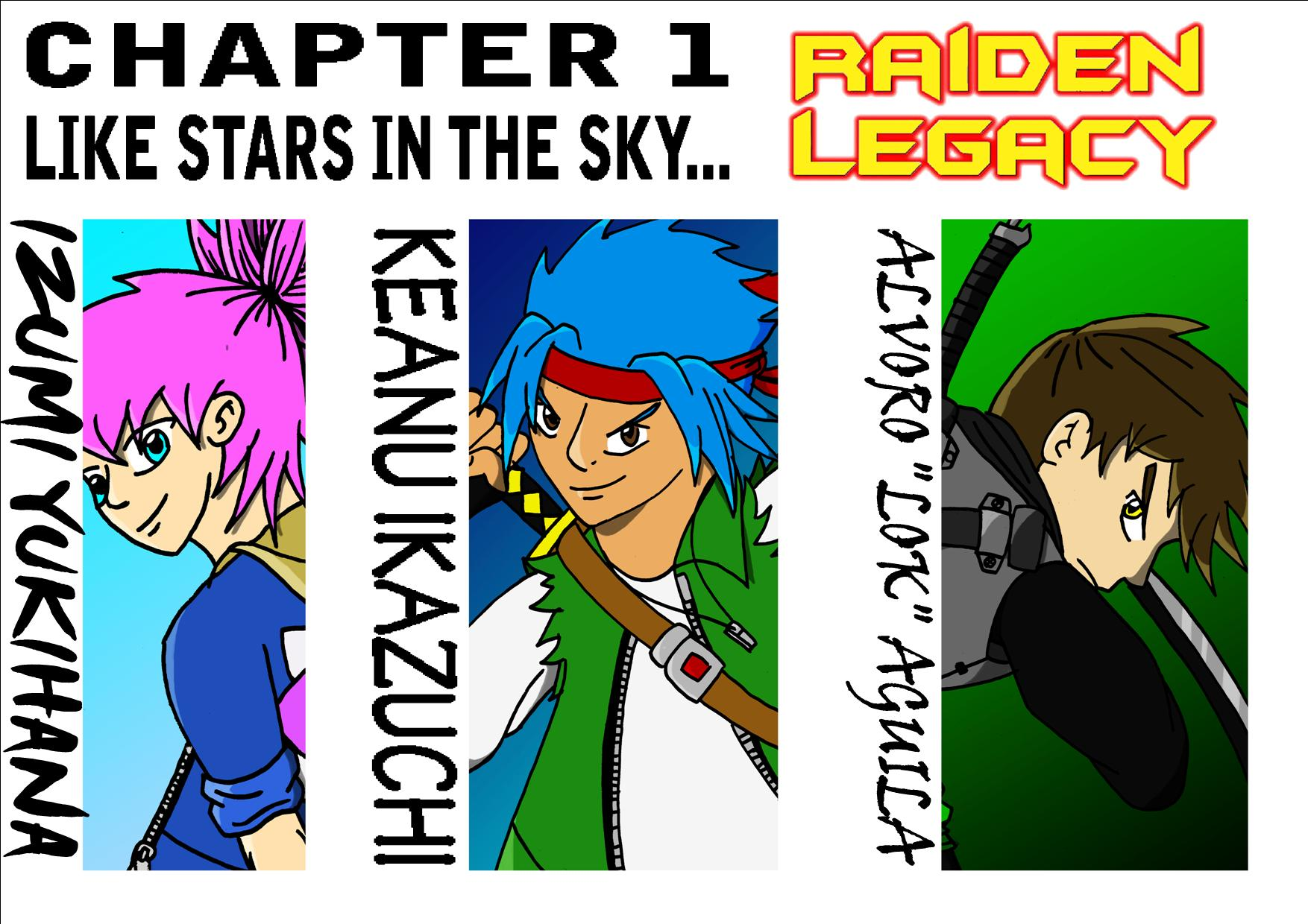Raiden Legacy Chapter 1 cover