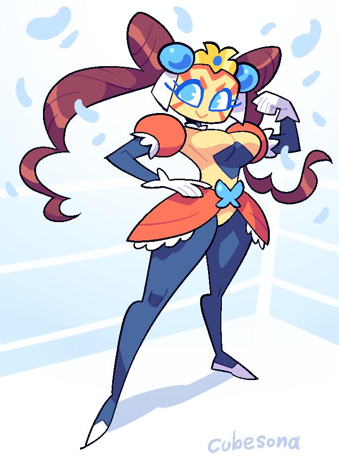 COMMISSION: Wrestler Princess