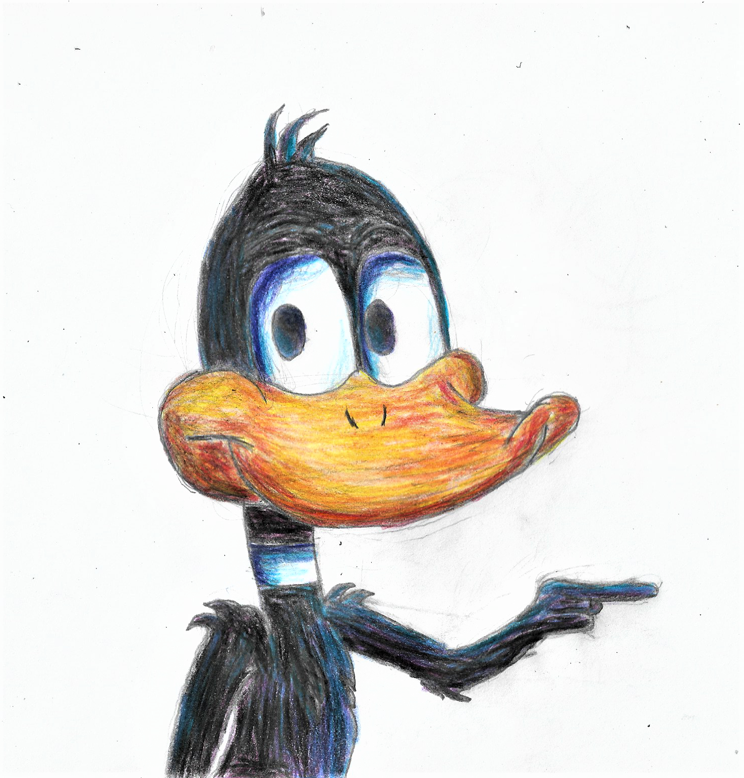 Daffy Duck Drawing By Superhypersonic2000 On Newgrounds