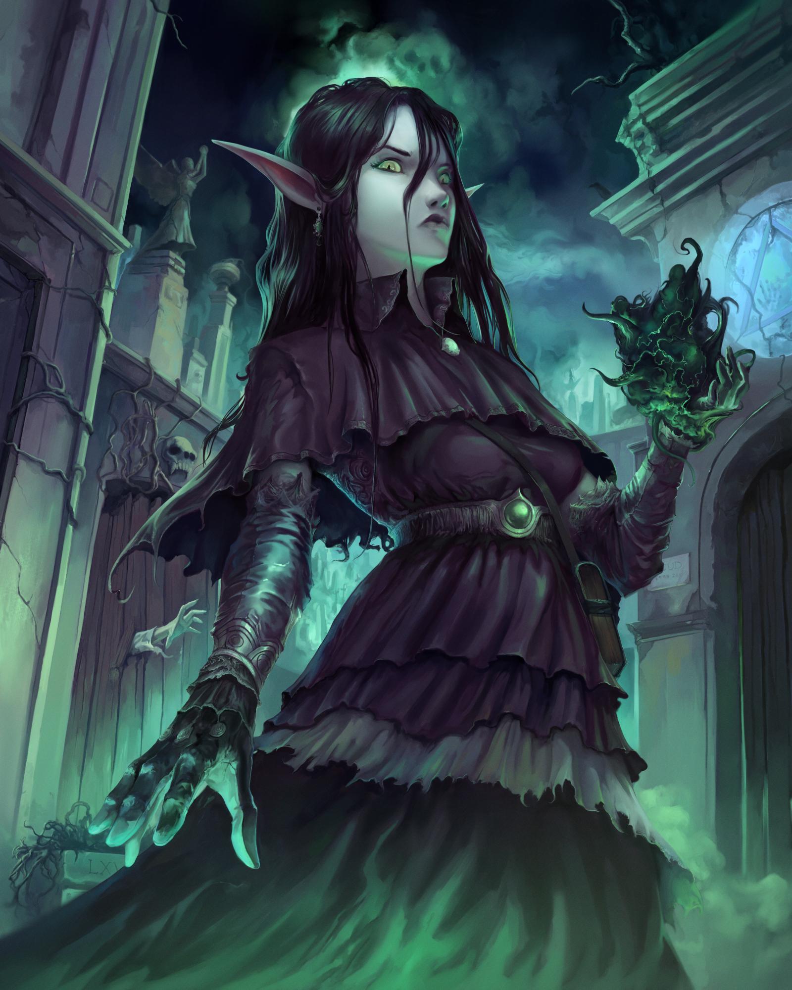 Elf Necromancer