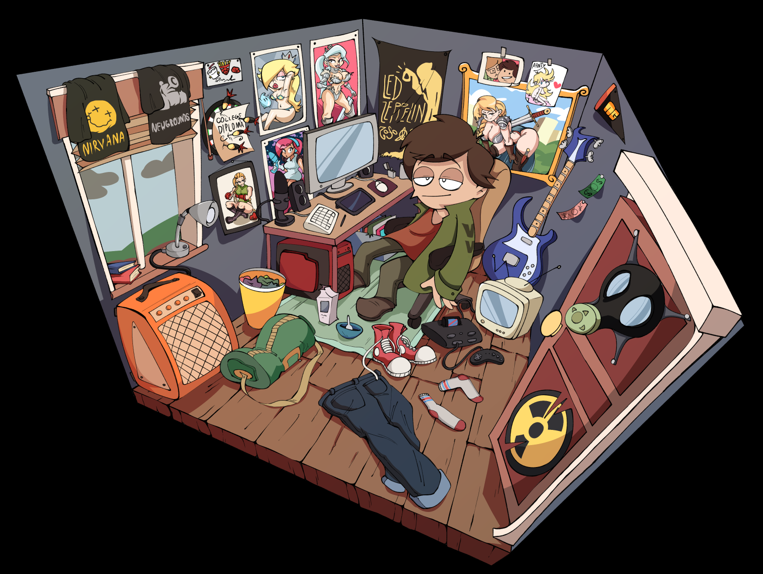 My Room by Arzonaut on Newgrounds
