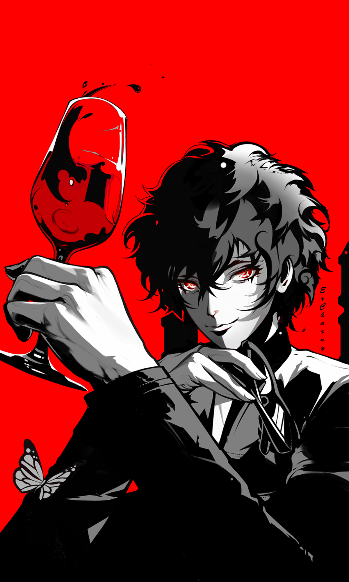 Sit Back and Relax [ Persona 5 Royal fanart ]