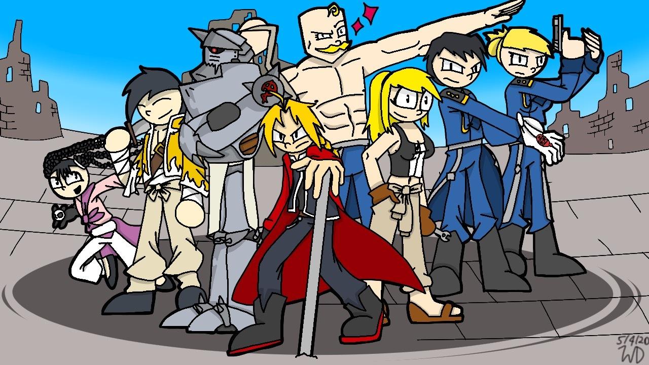FullMetal Alchemist Cast (By Game Wars Studios) by ...