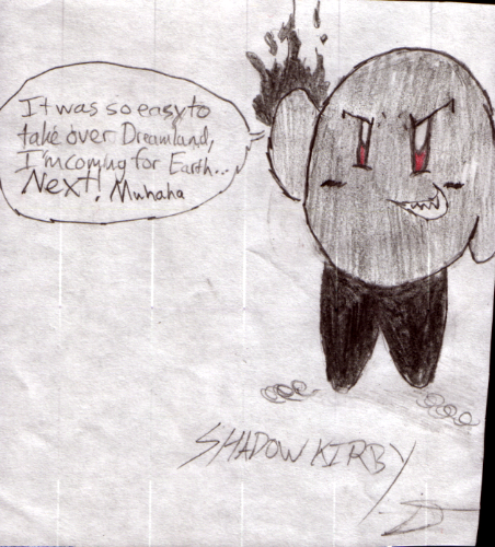 Shadow Kirby takeover