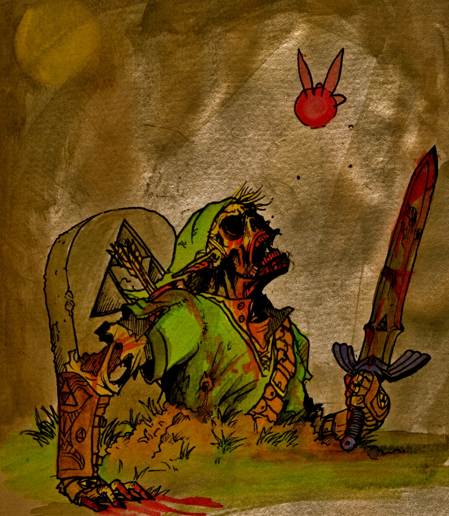 link from beyond the grave