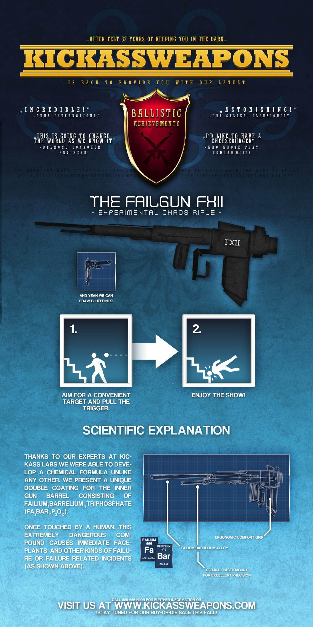 Kickassweapons: Failgun