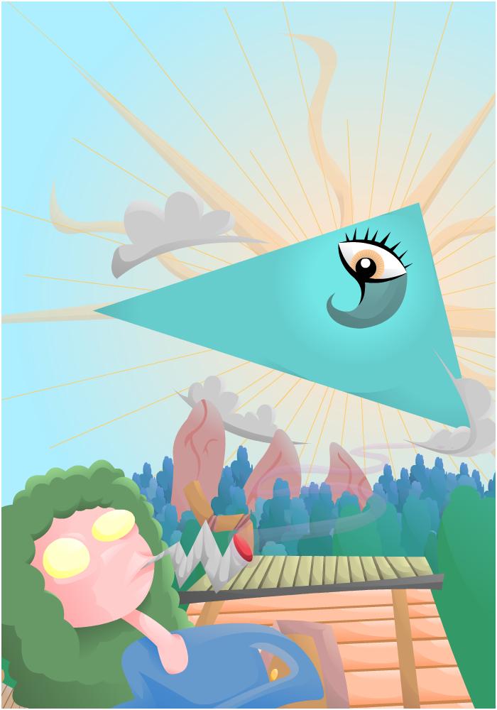 The Eye Descends