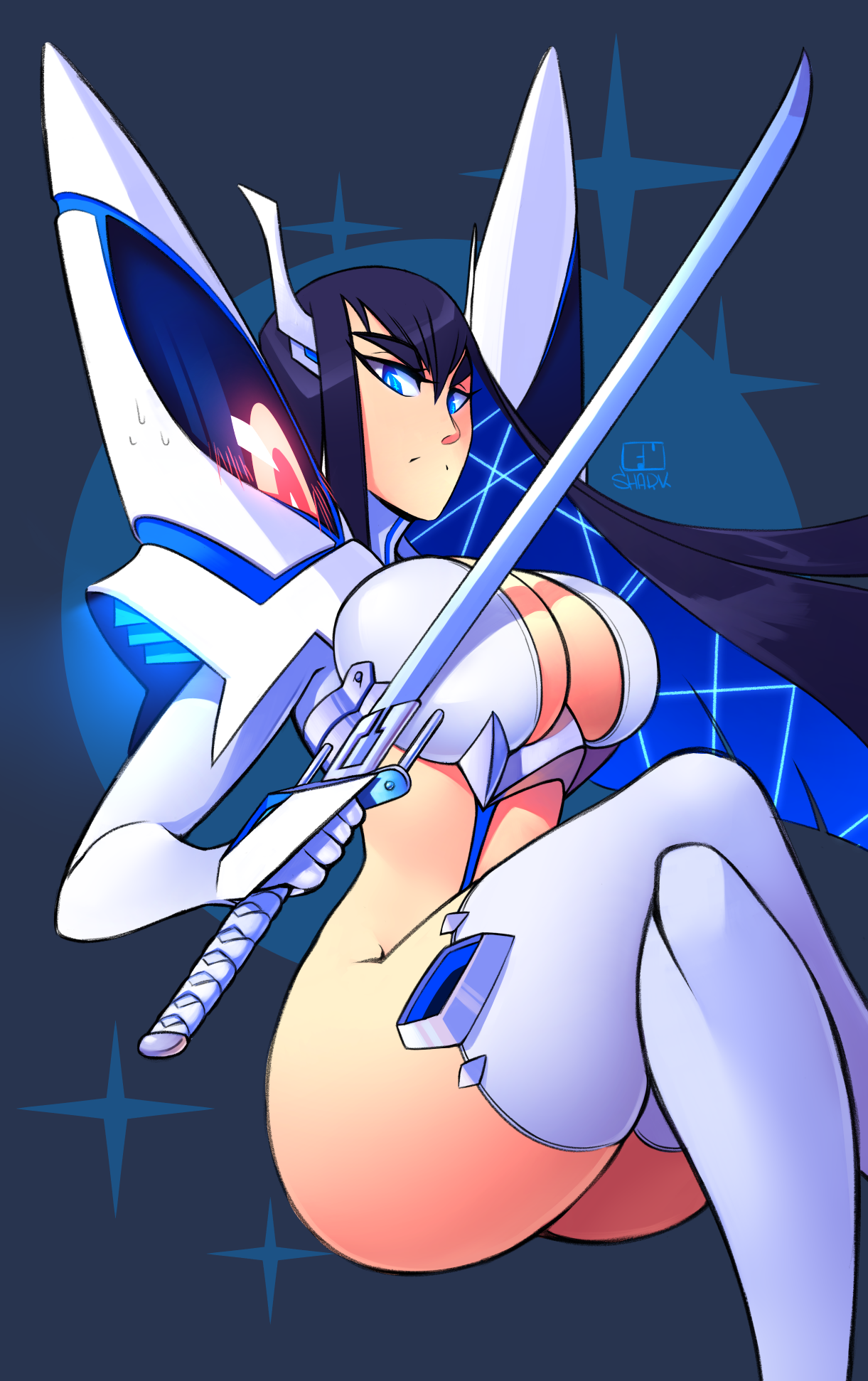 Queen Bitch-Kiryūin Satsuki