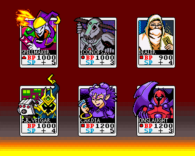 Sixfanarts Neo Geo Pocket Color Card style