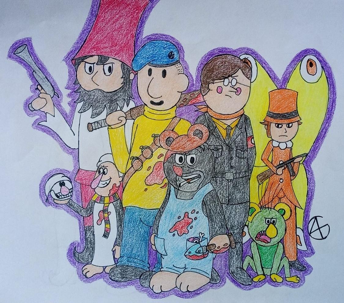 Alternative cartoons