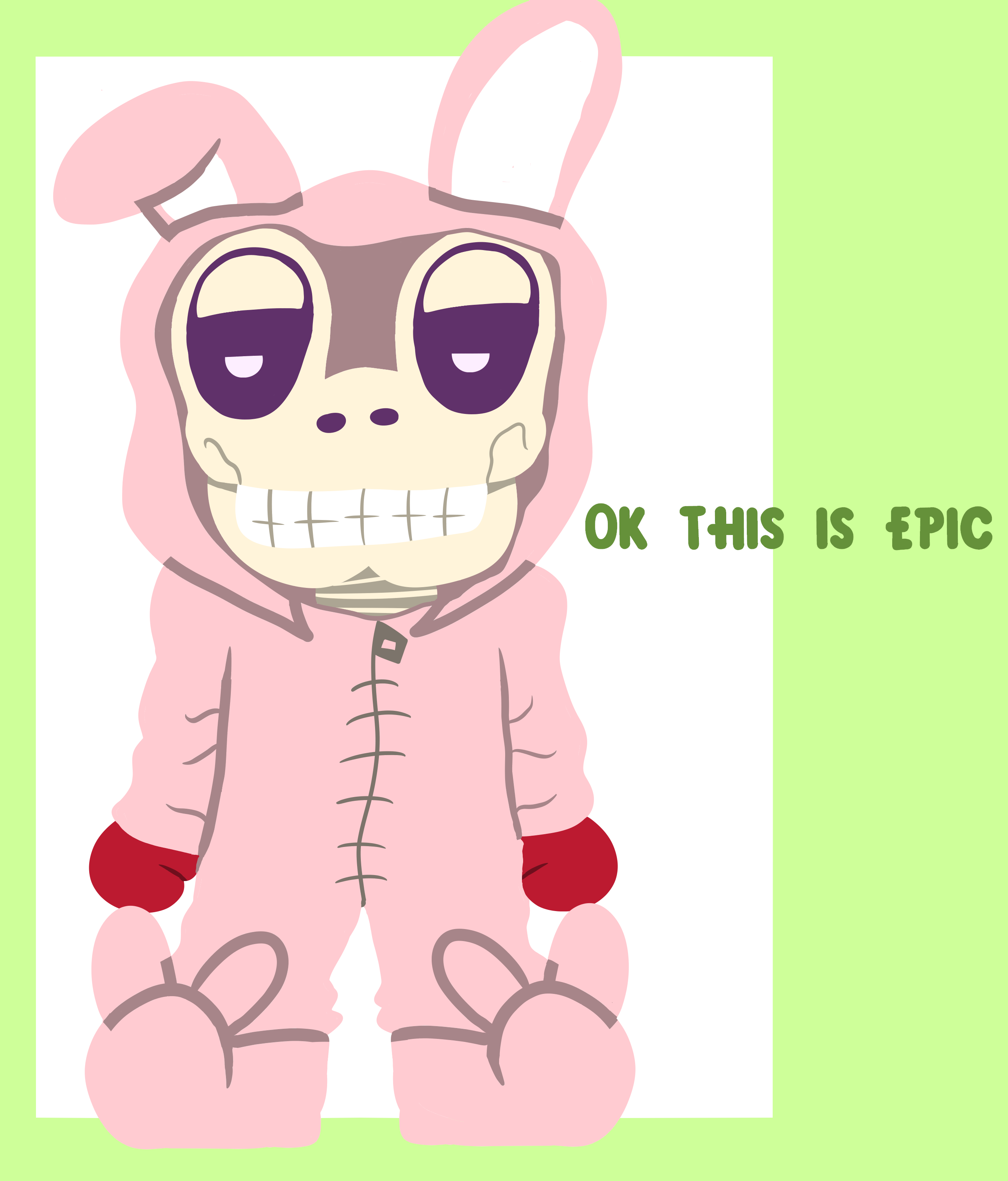 Easter Shitpost Bunny Costume