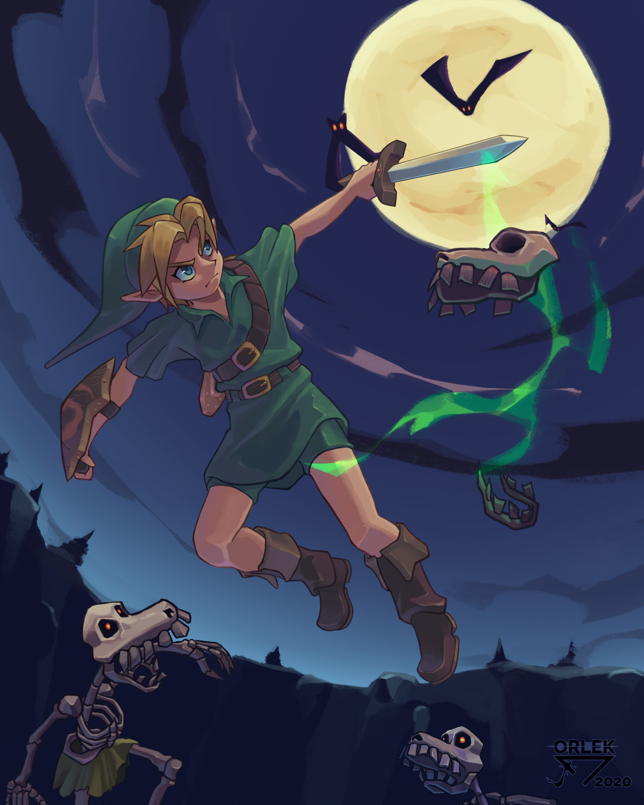 Young Link - Oot by Orlek-sketch on Newgrounds