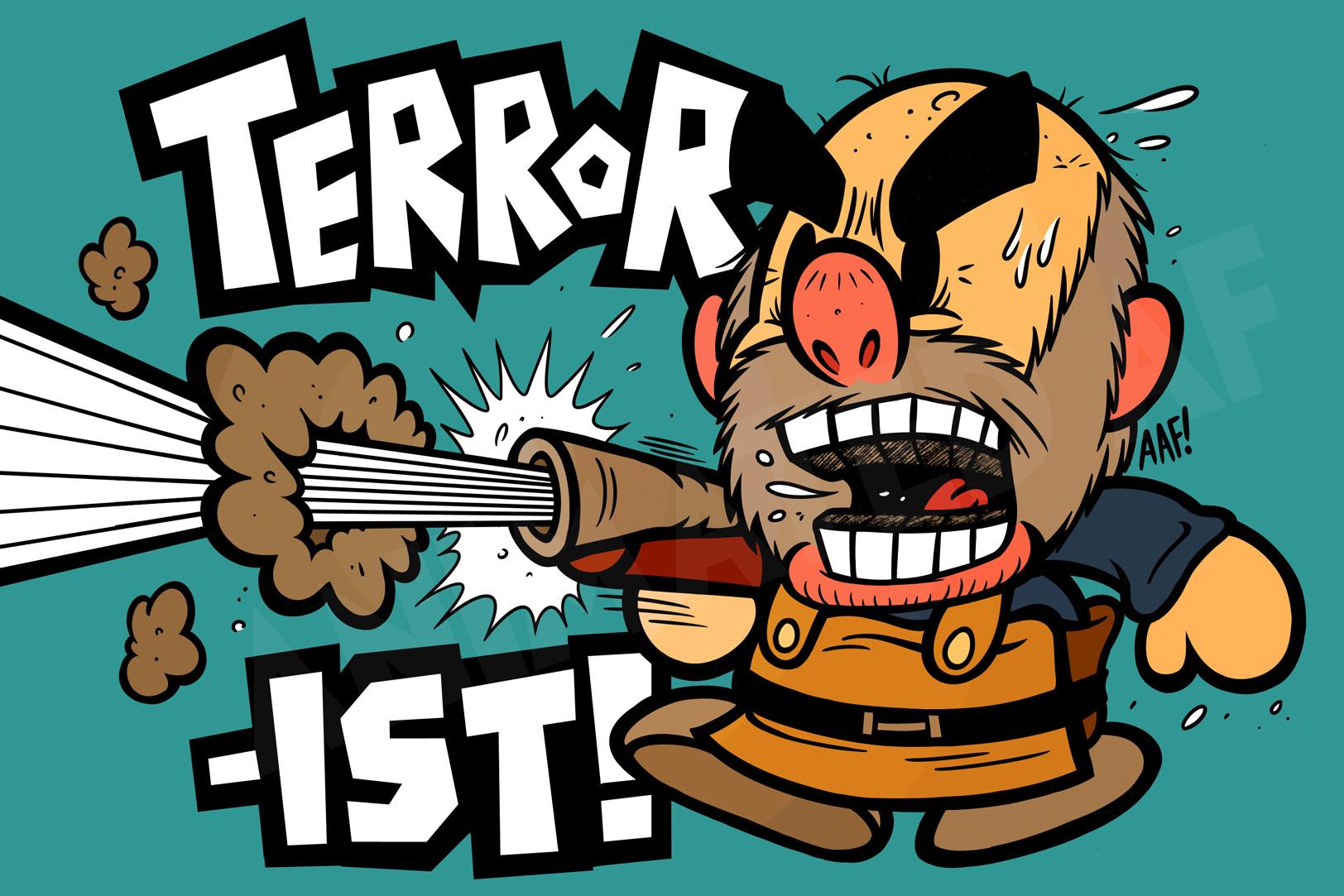 Terrorist! *BANG*