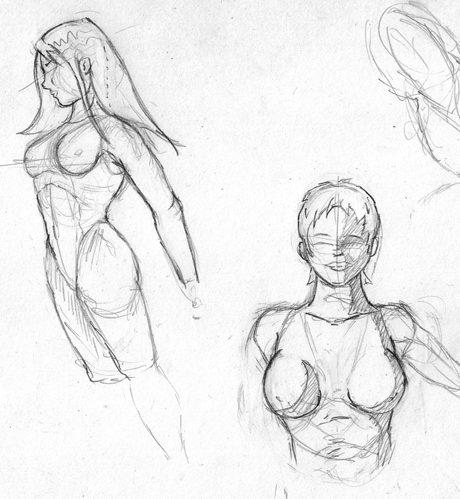 Girl Sketches