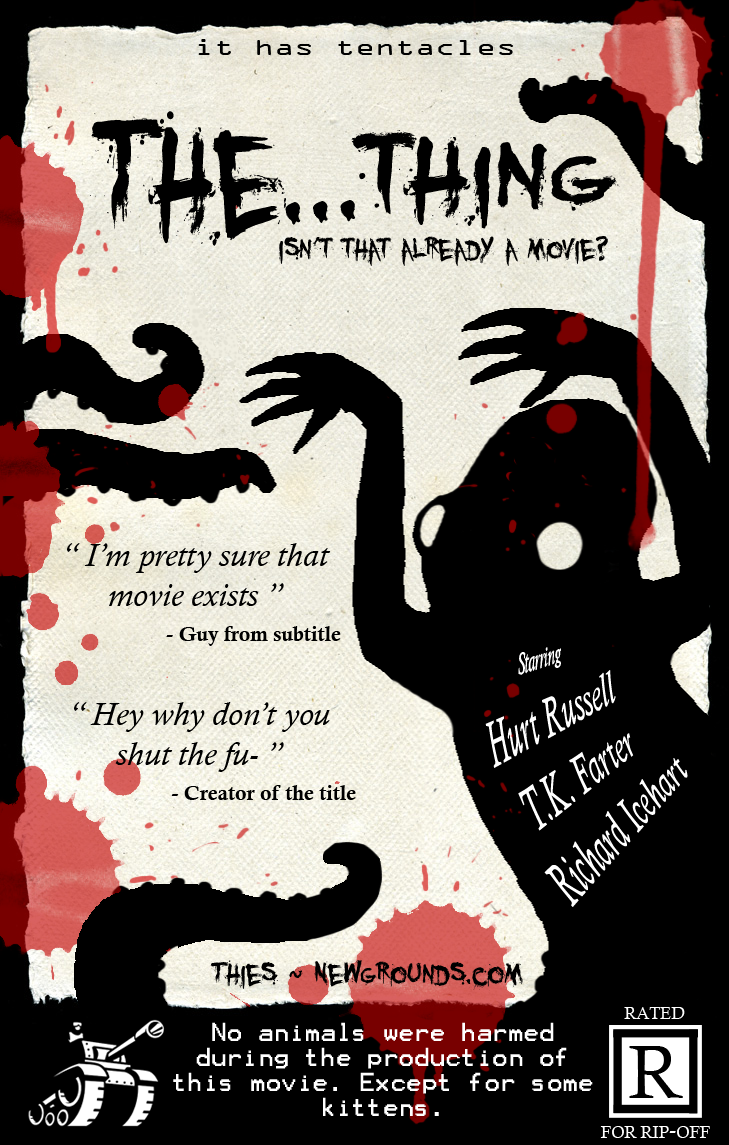 The...Thing B-Movie Poster