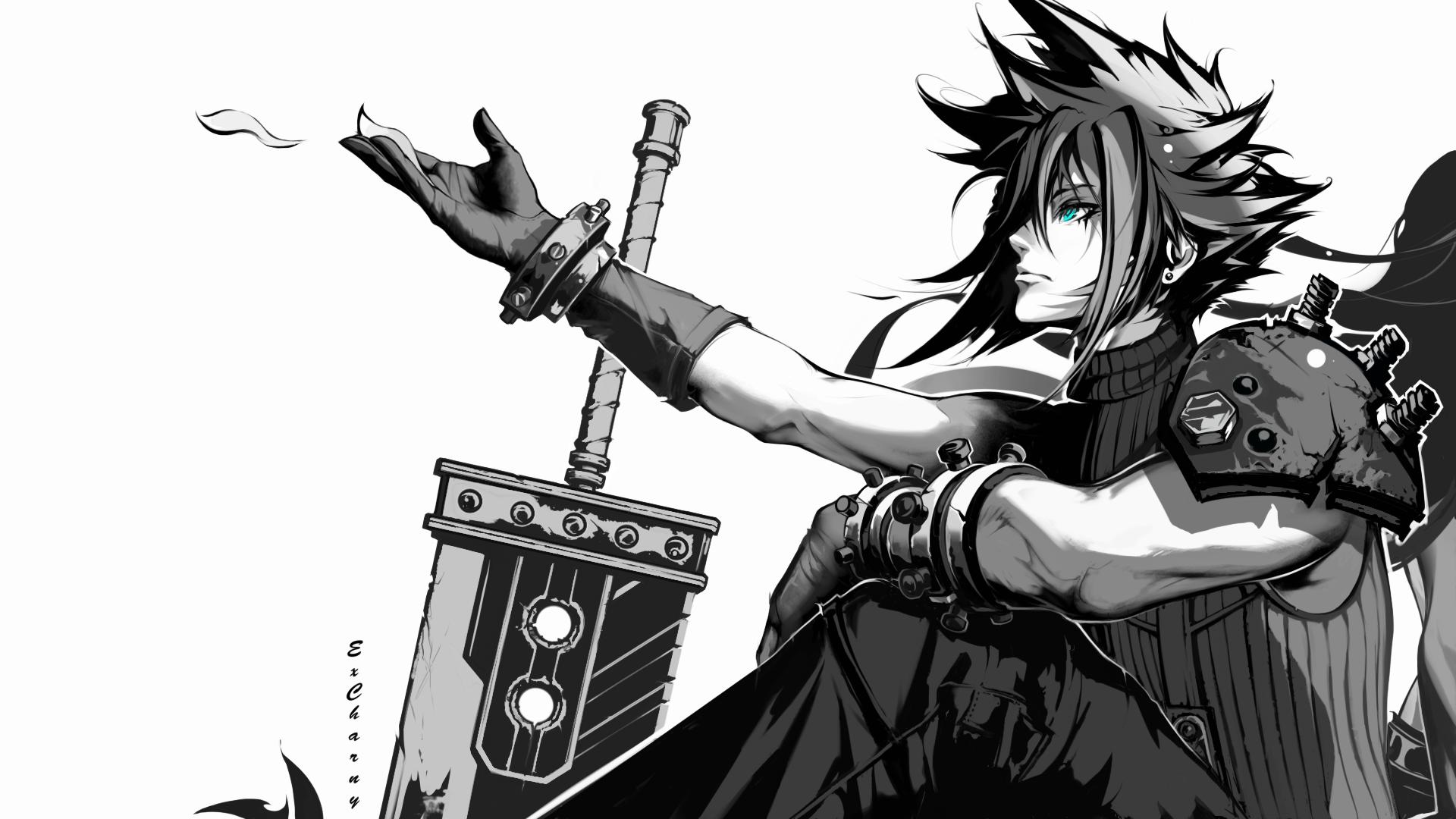 Anxious Heart [ Final Fantasy 7 Remake fanart ]