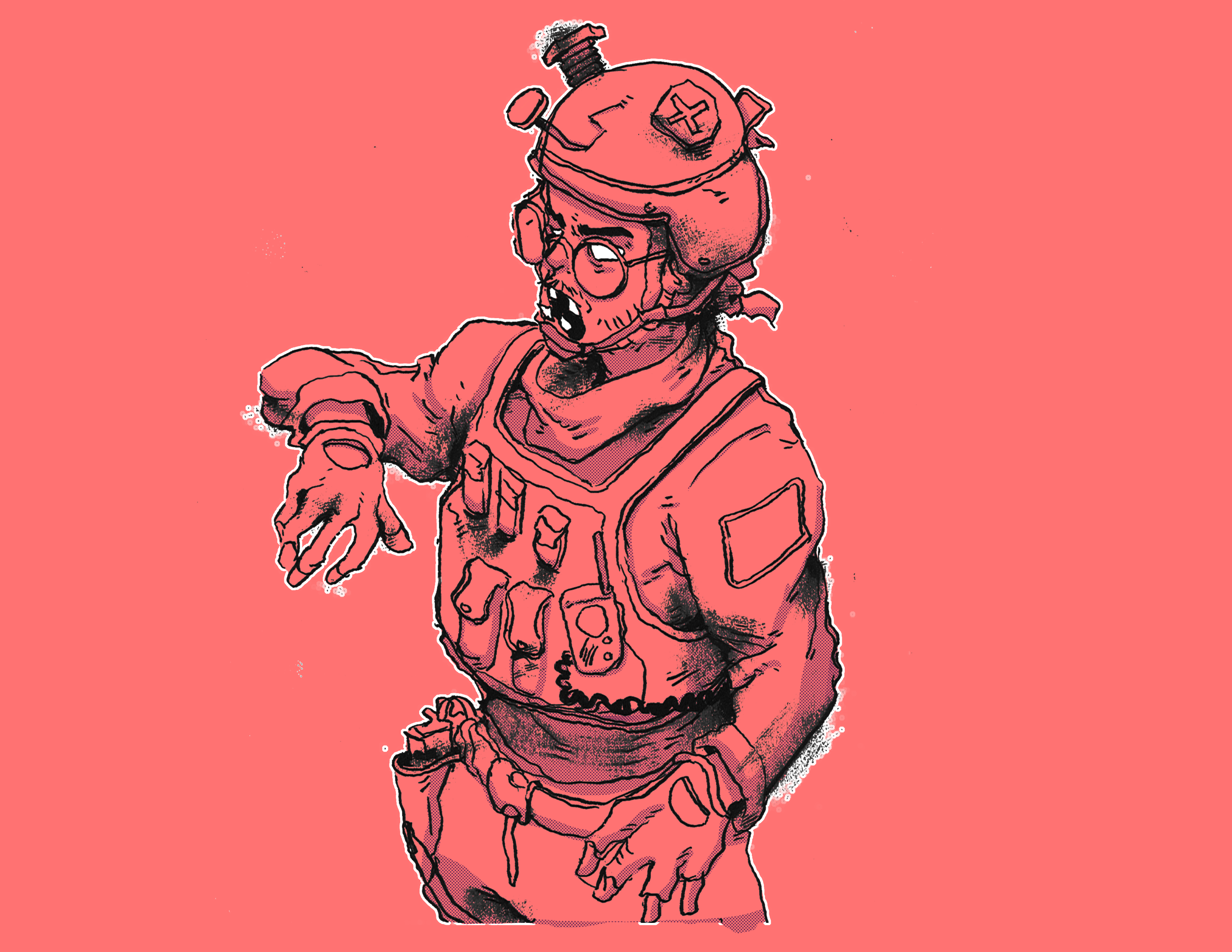 Zombie Soldier