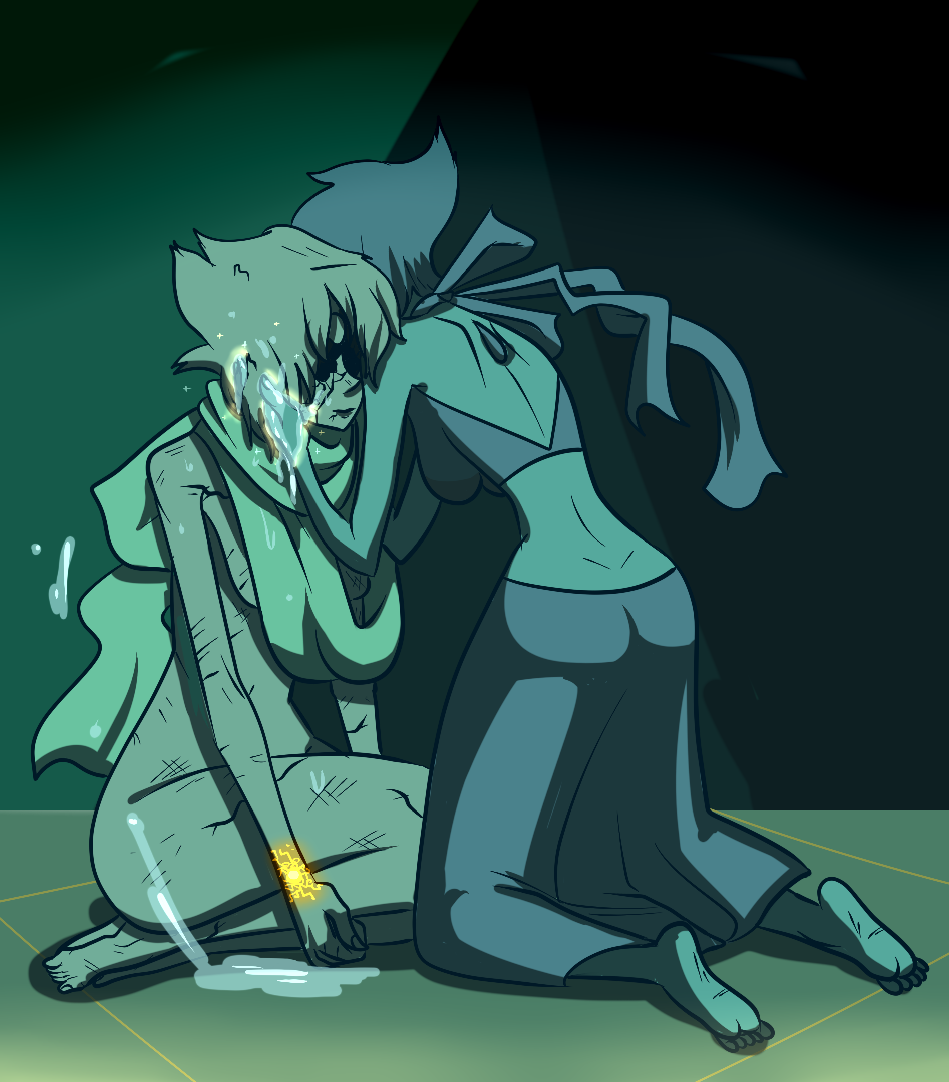 Lapis and Pearl!