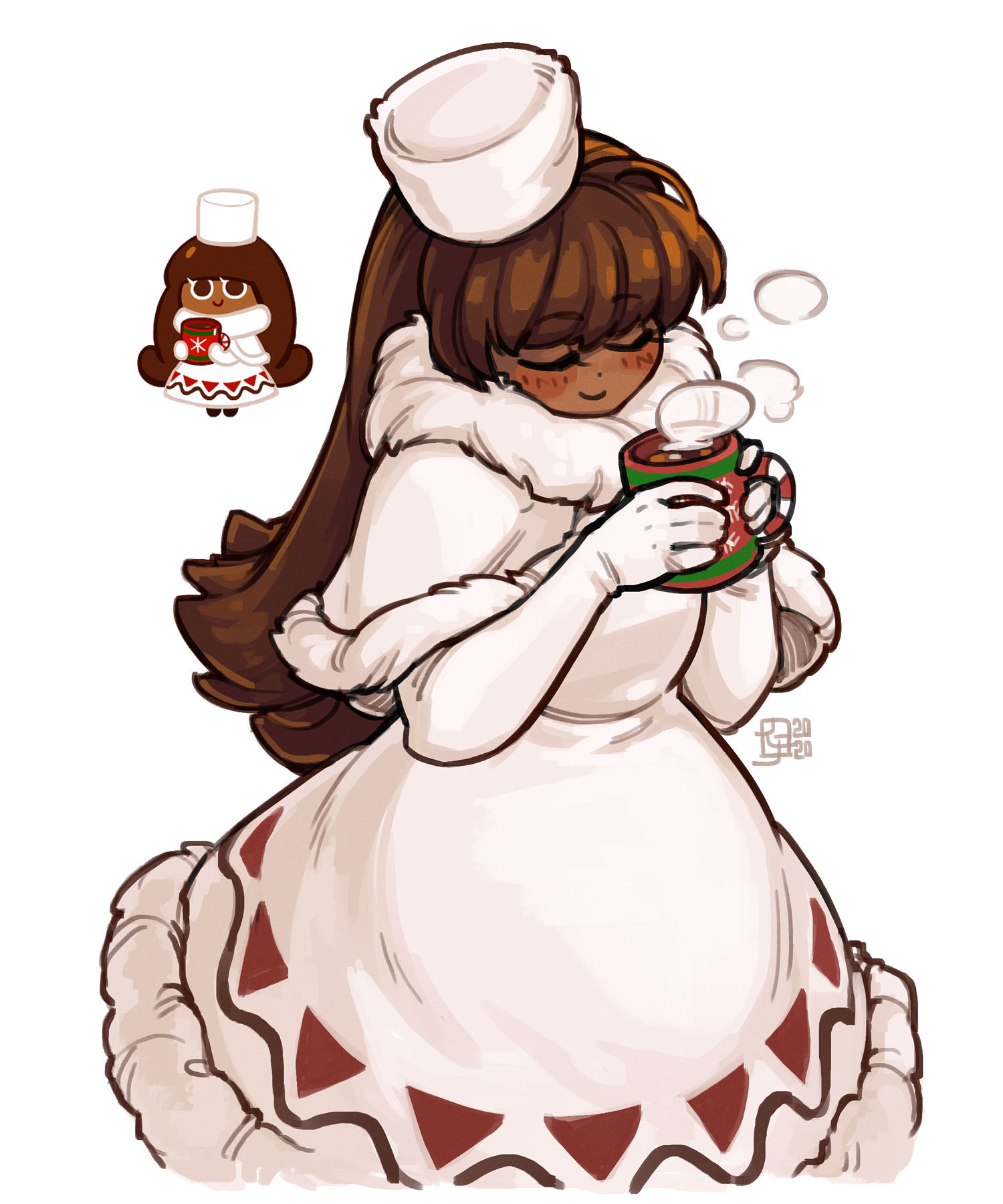 [sketching] Cocoa Cookie