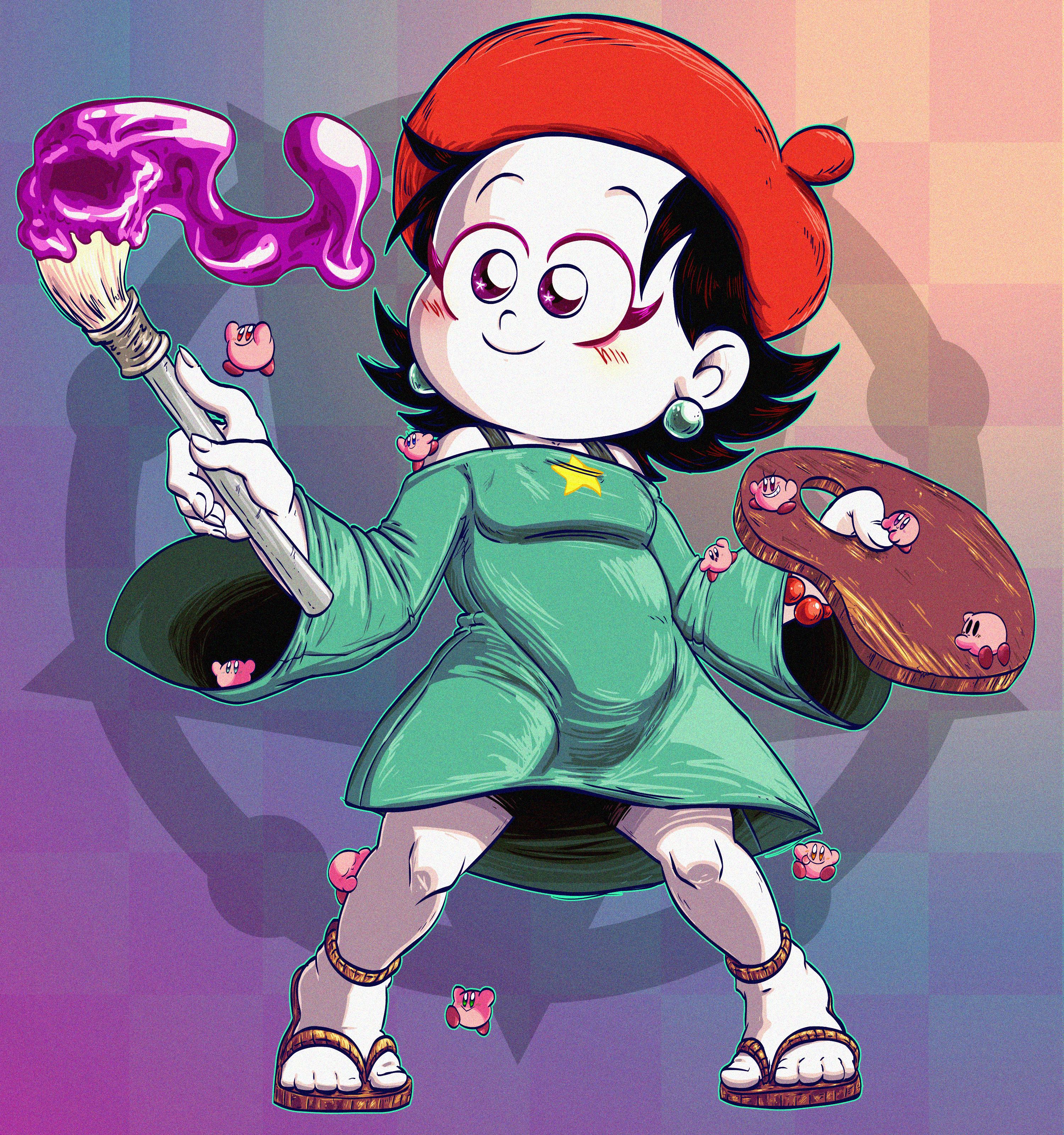 Kirby Guardian: Magic Paintbrush (Sunset)