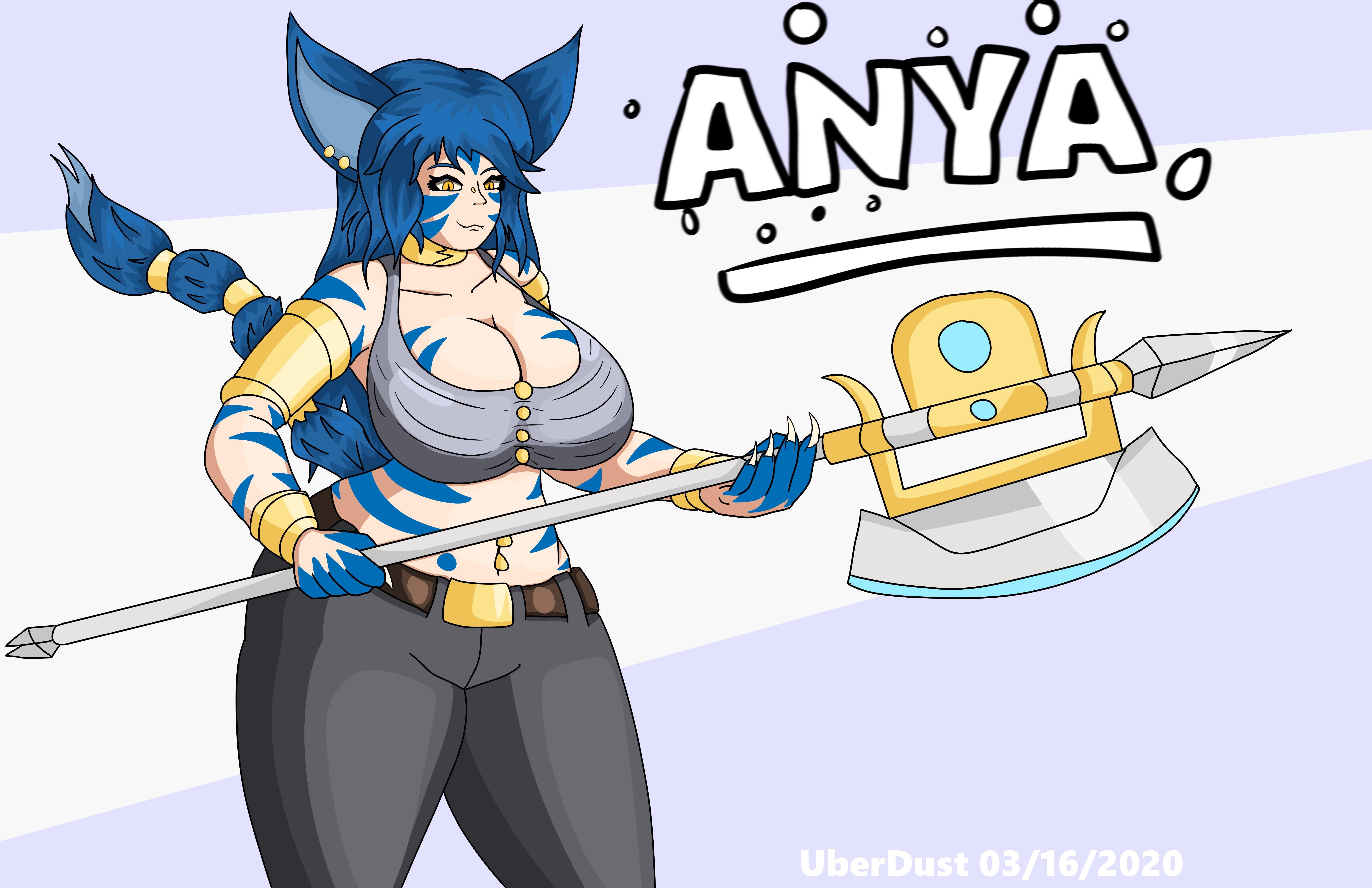 Anya by UberDust on Newgrounds