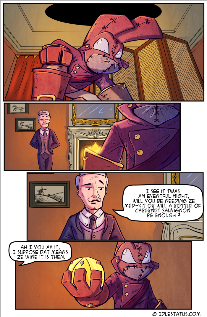 Hare-itage ( Book 1, Page 8)
