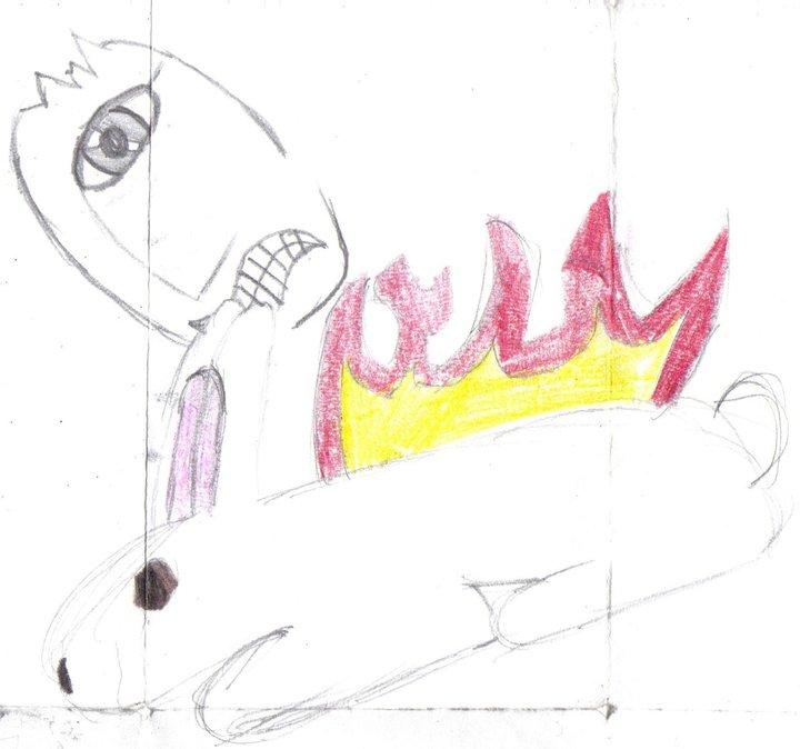 Flaming Bunny