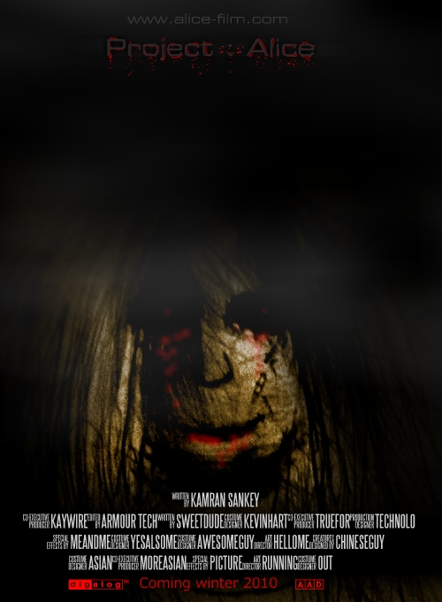 Project Alice movie poster