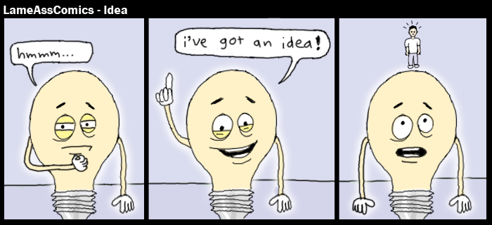 LameAssComics - Idea