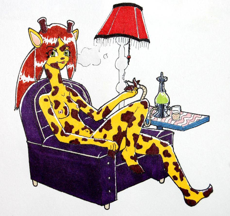 Hookah Giraffe