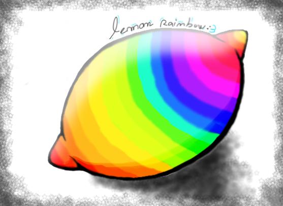well duh it's a lemonrainbow