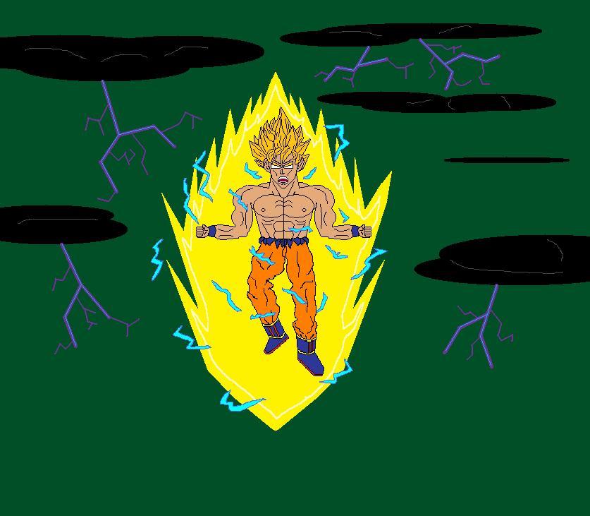 Goku (Super Saiyan on Namek)