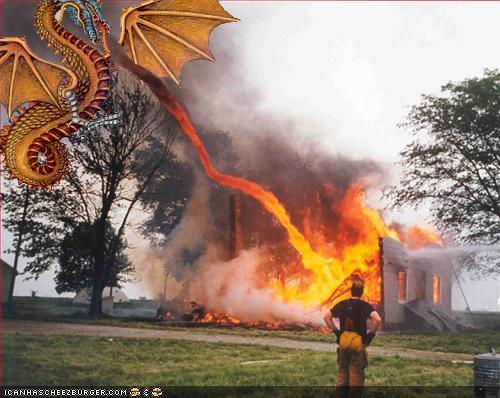 Dragon Got Mad