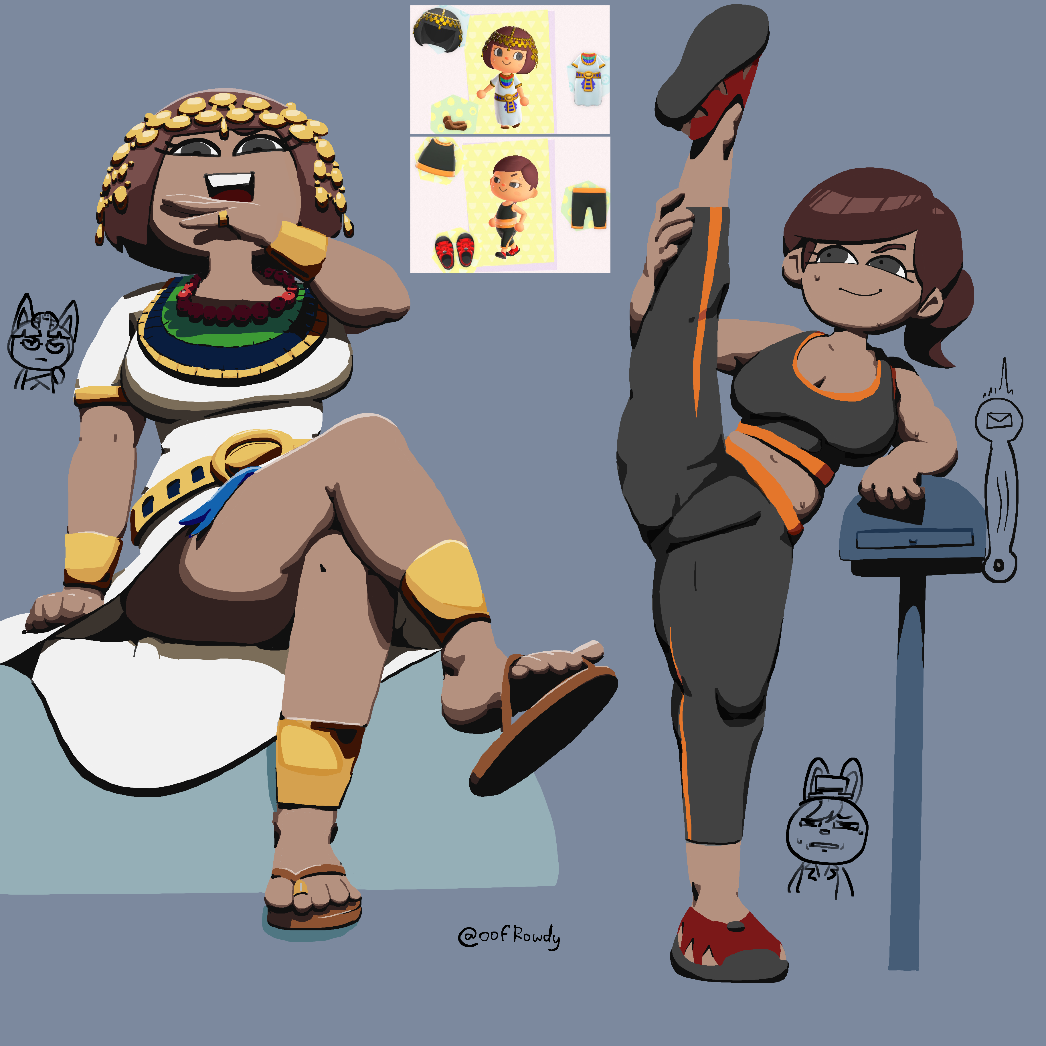 Villager outfits