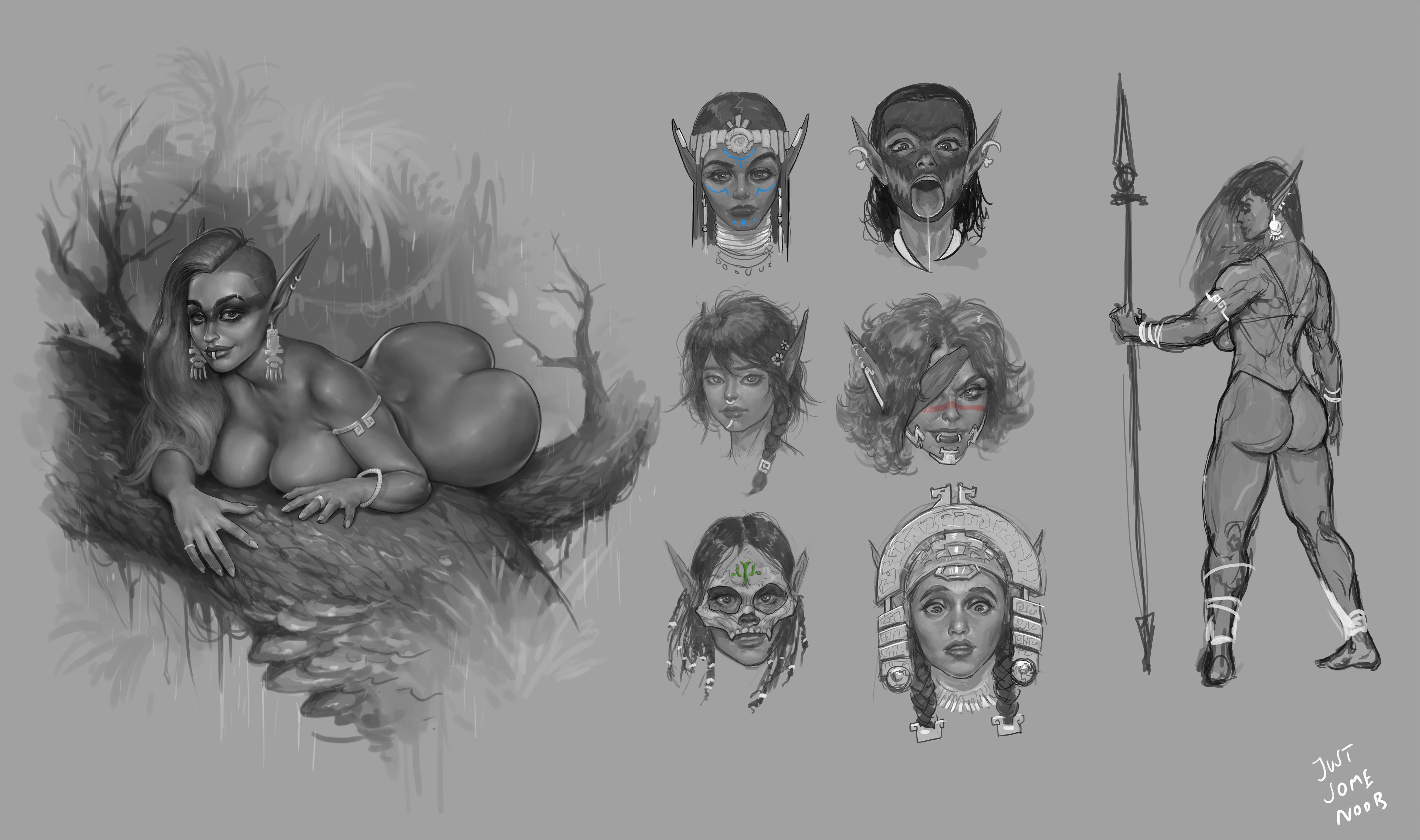 Jungle elf concept