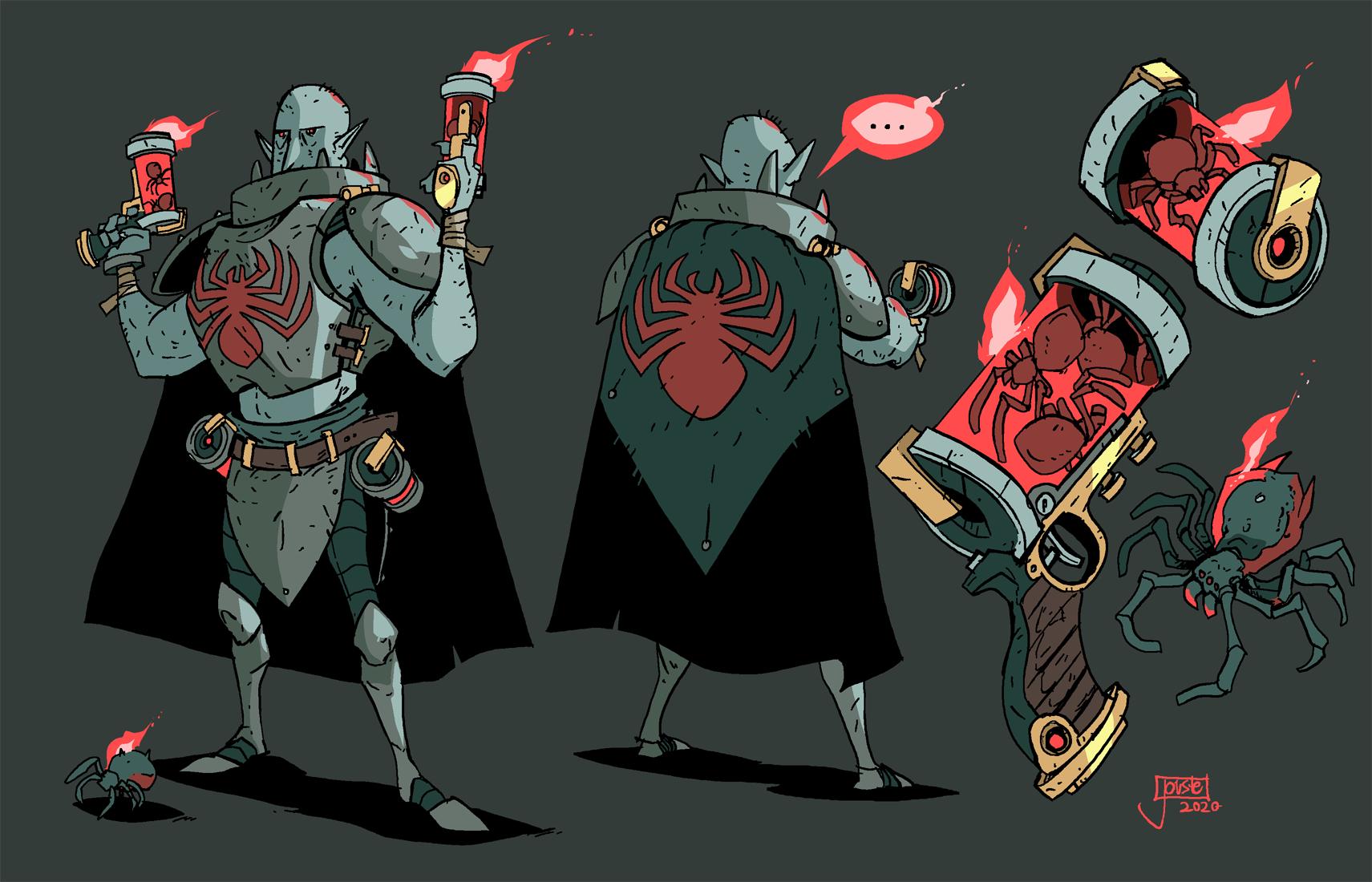 Captain Spiderguns
