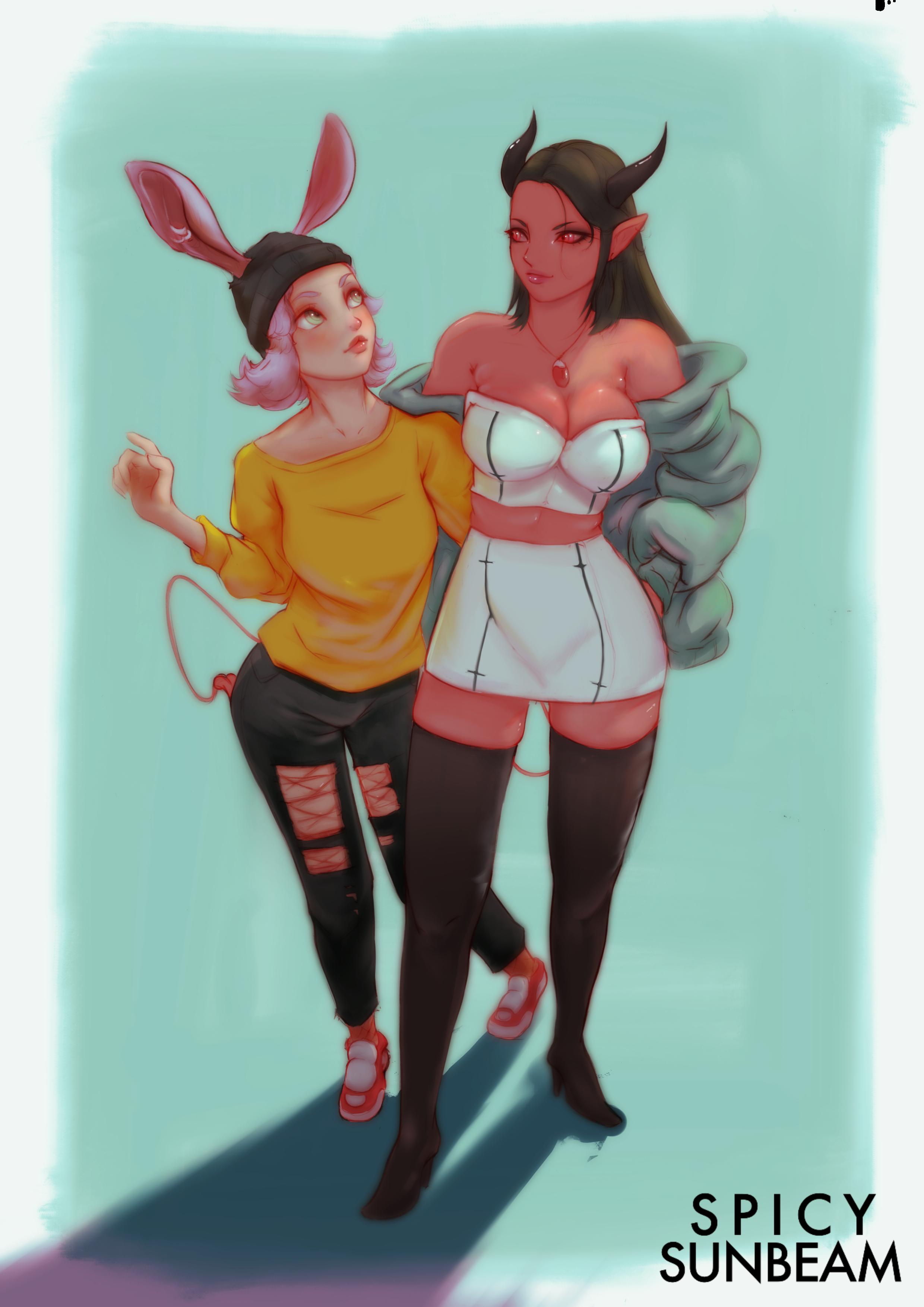 Mila and Sariana