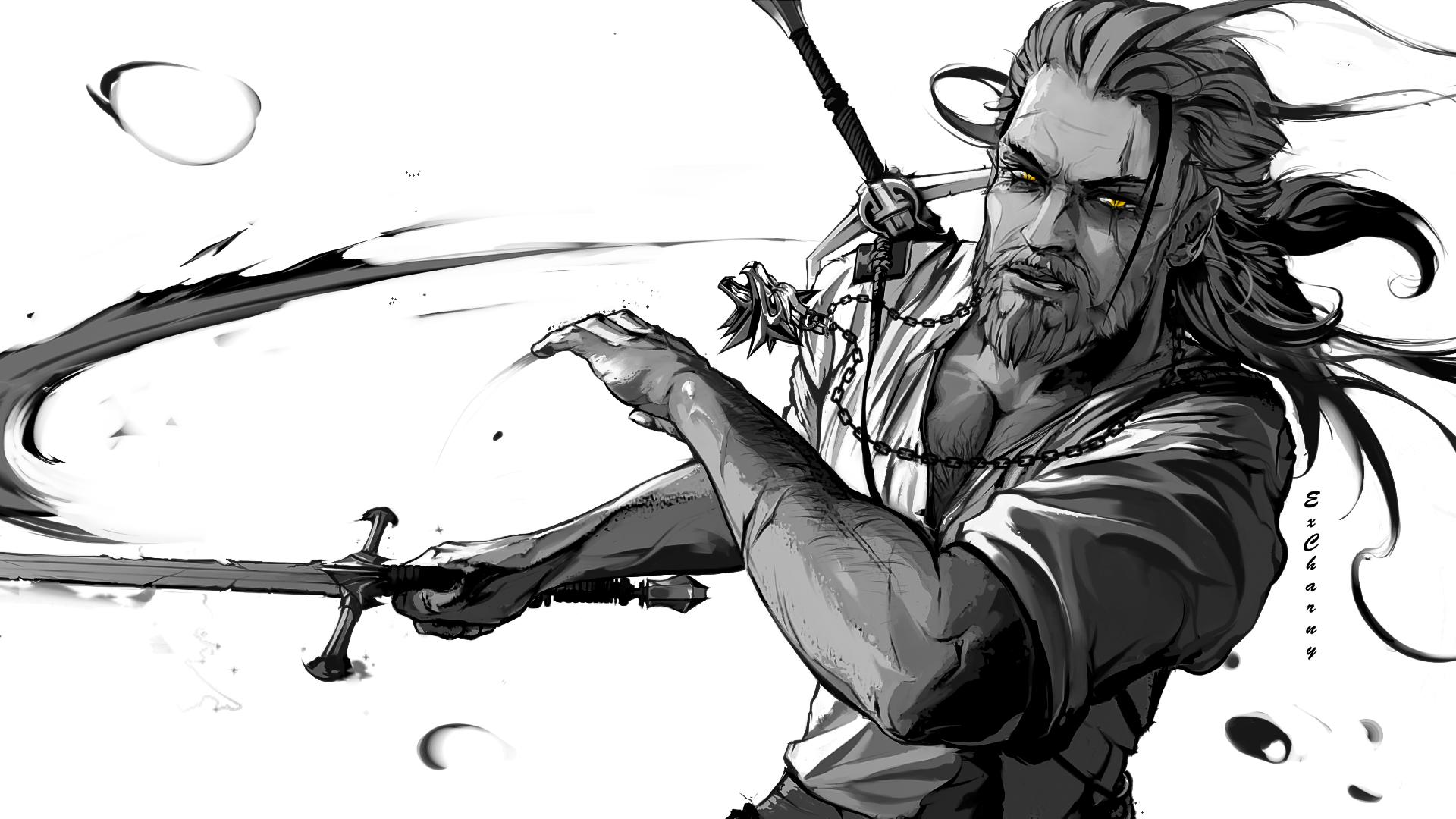 Brave n Bold [ Witcher 3 fanart ]