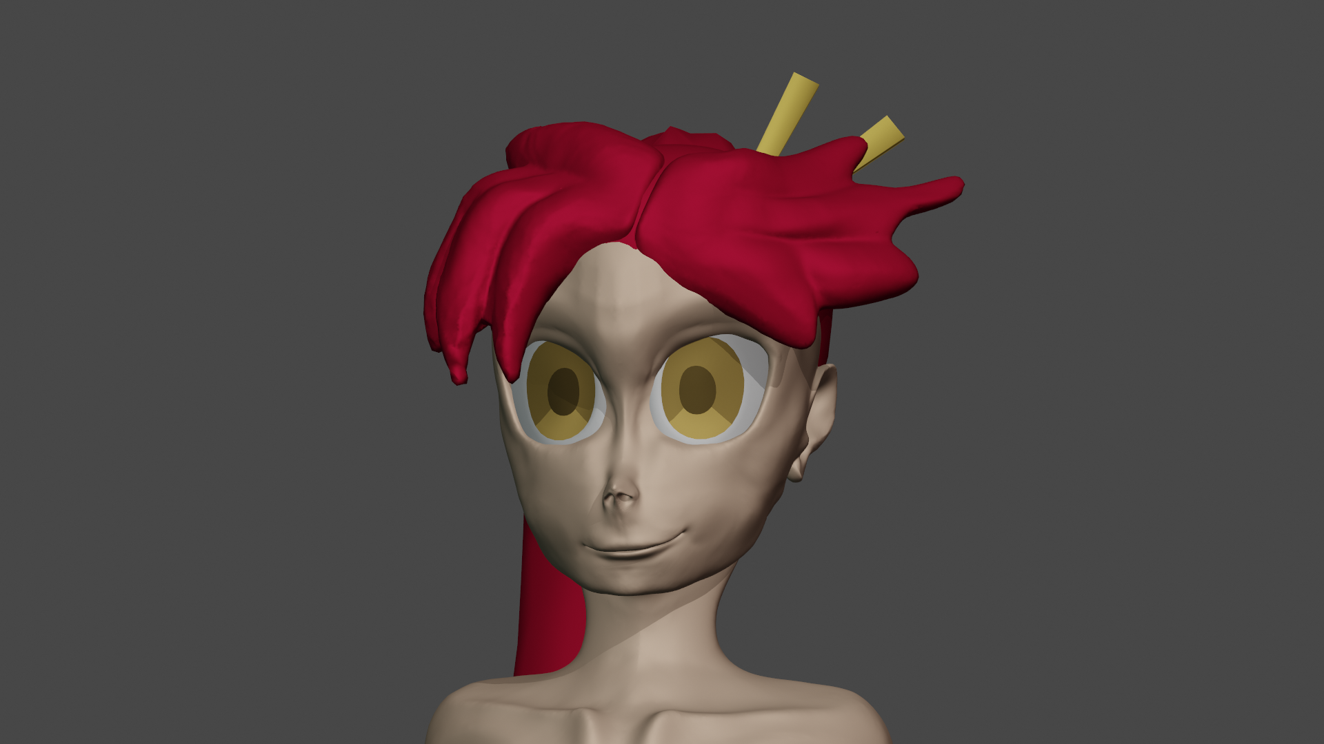 Yoko head sculpt