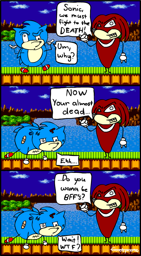 Sonic & Knuckles Comic