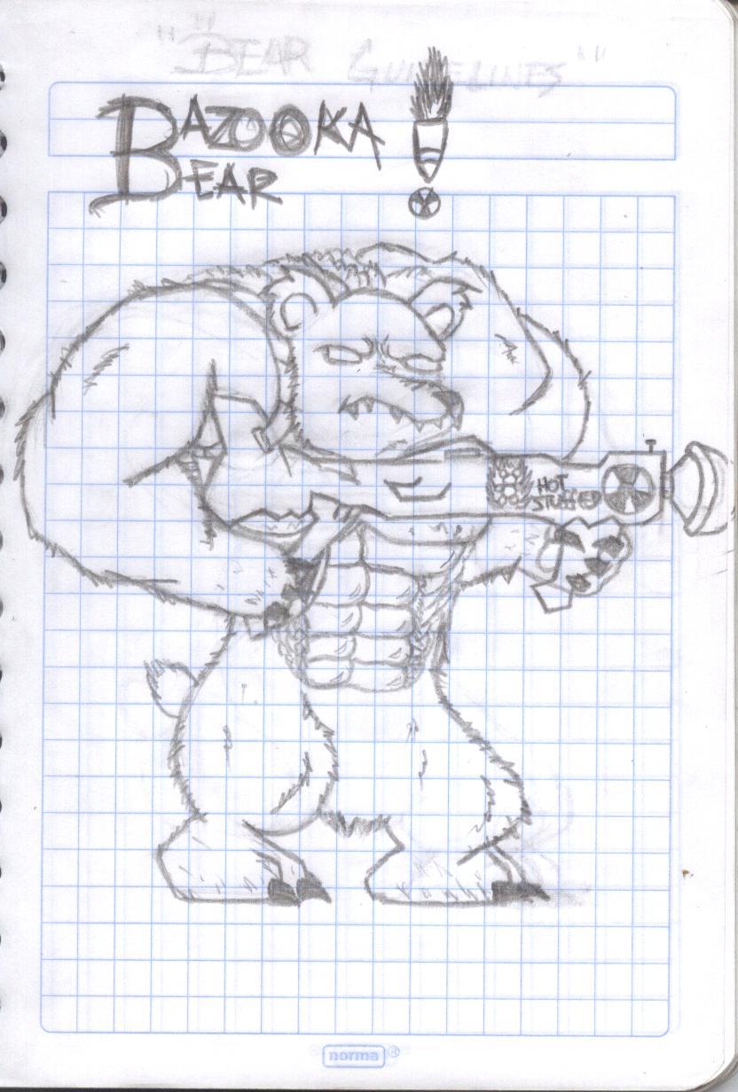 BAZOOKA BEAR!