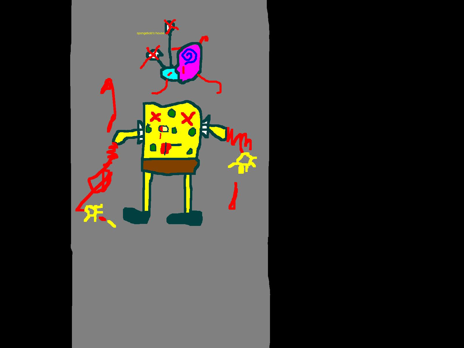 spongebob is dead oh nooooooo  by rojet58 on newgrounds